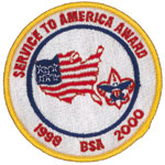 BSA Service to America Patch