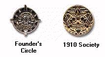 Founders Circle and 1910 Society Devices