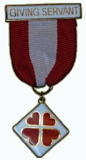 Giving Servant Medal