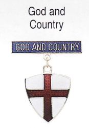 God and Country medal (Cub Scouts)