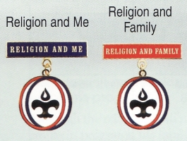 Religion and Me & Religion and Family medals