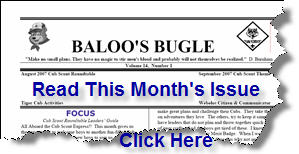 Read This Month's Issue of Baloo's Bugle - Click Here