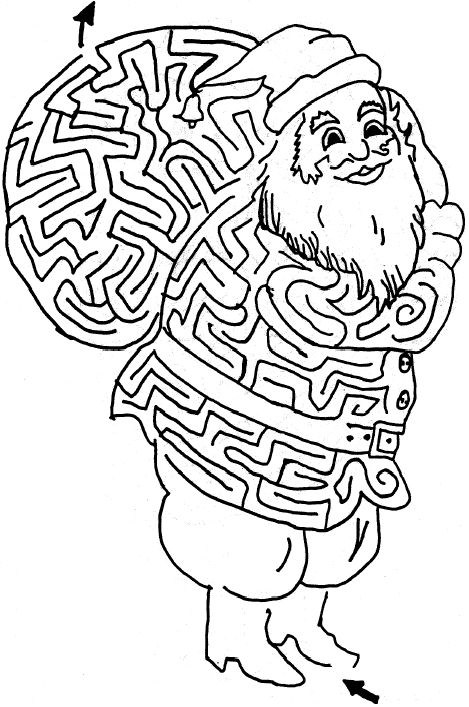Big Santa Claus Is  ing To Town together with Gingerbread House Printable besides Christmas Santa Claus Door Hangers Printable further Christmas Coloring Sheets besides Candy Cane. on santa claus printable activities