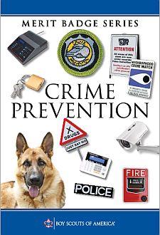 Crime Prevention Merit Badge 2018 Changes