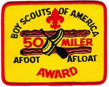 Old 50 Miler Patch