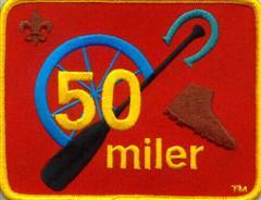 50 Miler Patch