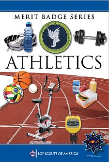 athletics merit badge. Black Bedroom Furniture Sets. Home Design Ideas