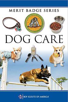 dog care merit badge pamphlet